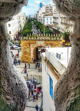 Avenue de France, Tunisz forgalmas belvárosi utcája