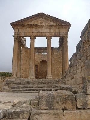 Capitolium templom, Douga
