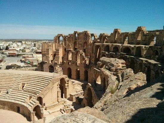 El-Jem-i amfiteátum a római időkből