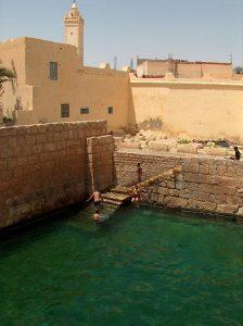 Gafsa római kori medencéje