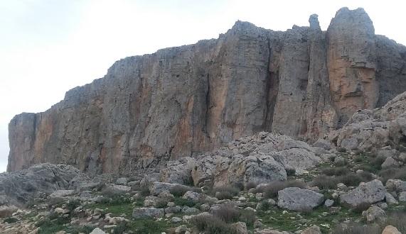 Jugurtha-táblahegység sziklái