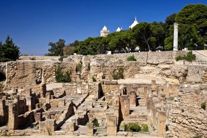 Karthago romjai