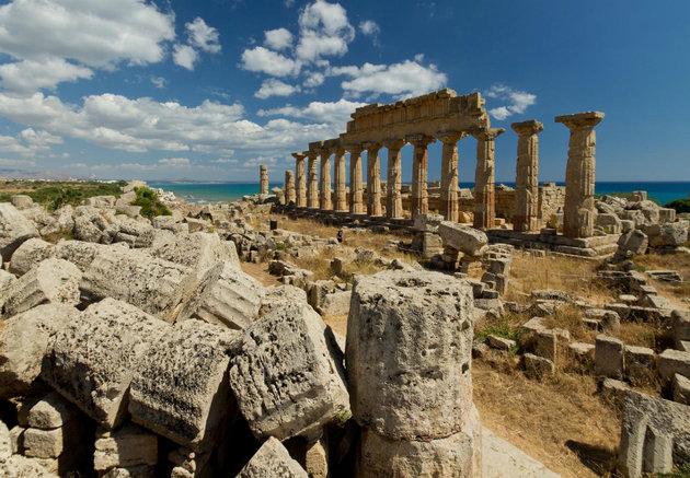 Az ókori Karthago romjai