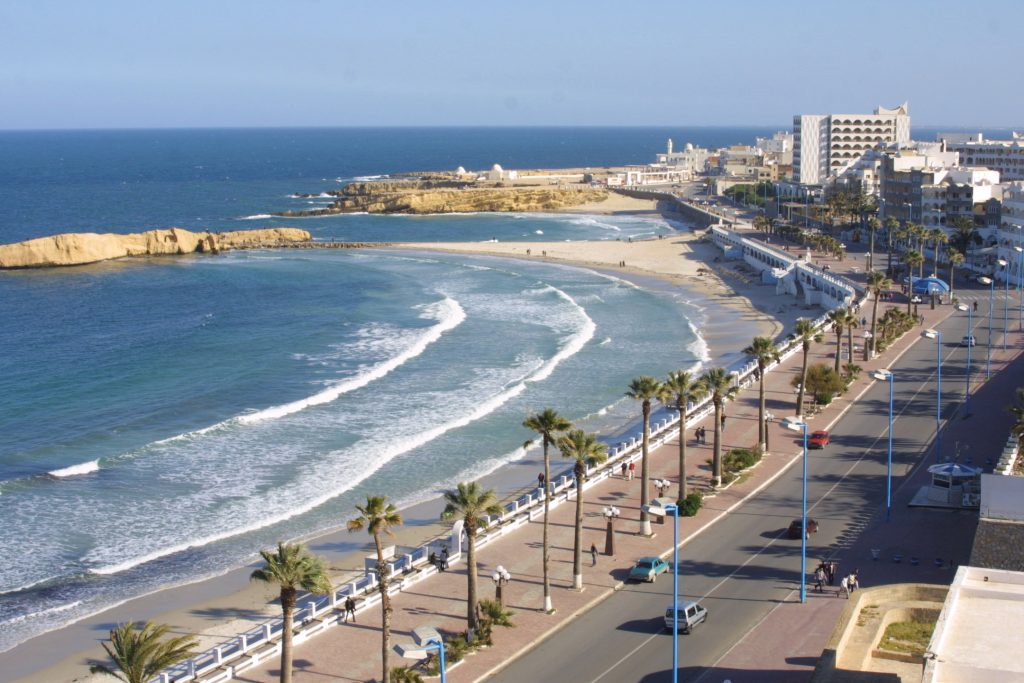 Monastir homokos tengerpartja