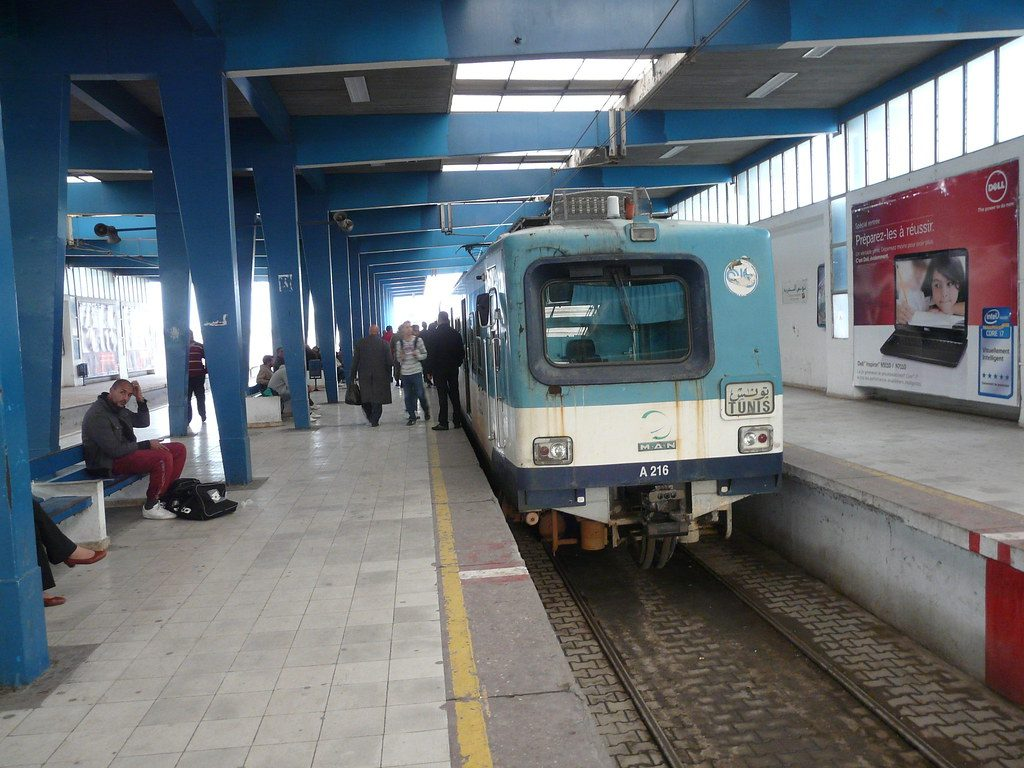 Tunisz, TGM vasútállomás