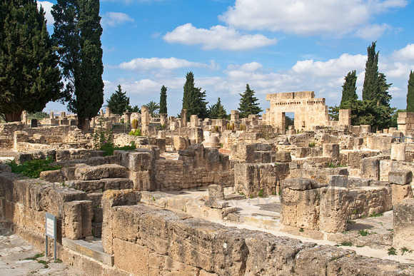 Utica római kori romjai