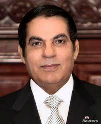 Ben Ali , Tunézia elnöke (1989.–2011.)