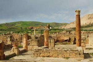 Bulla Regia romjai