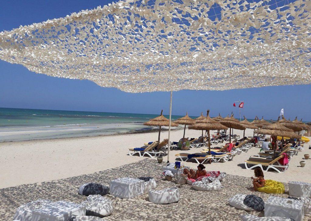 Djerba homokos partja