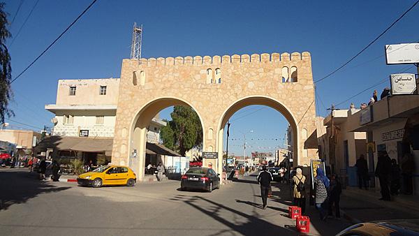 Douz városközpontja