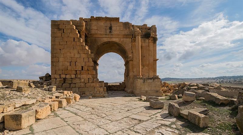 Septimius Severus diadalíve - Haidra