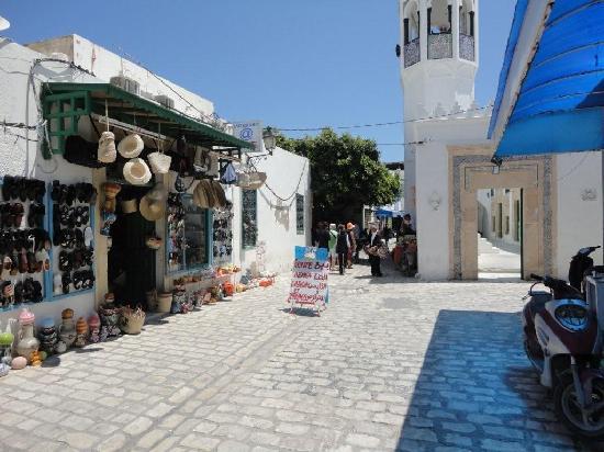 Mahdia belvárosa