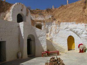 Matmata barlanglakások