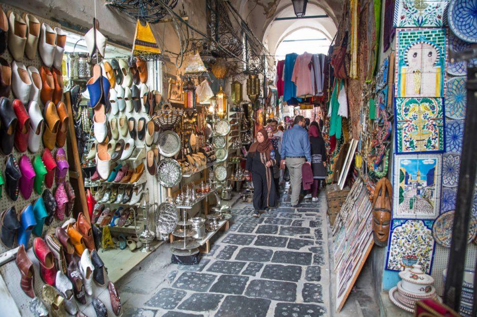 Tuniszi medina