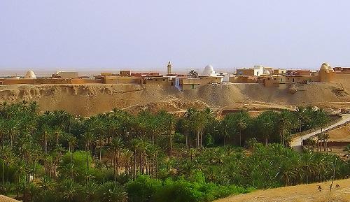 Nefta oázisvárosa