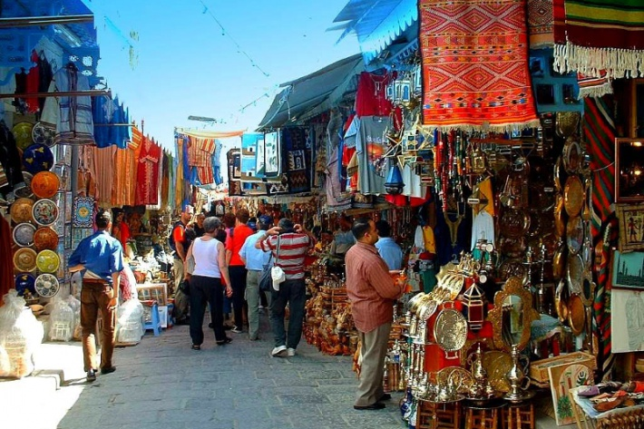 Szuk - hagyományos arab piac