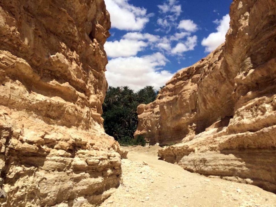 Tamerza környéki hegyvidék
