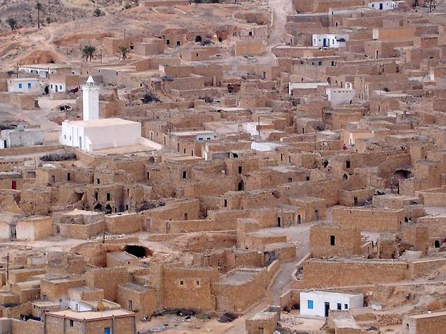 Toujane - Tunézia egyik leglátványosabb városa