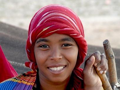 Tunéziai nő